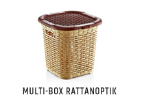 Multibox in Rattanoptik